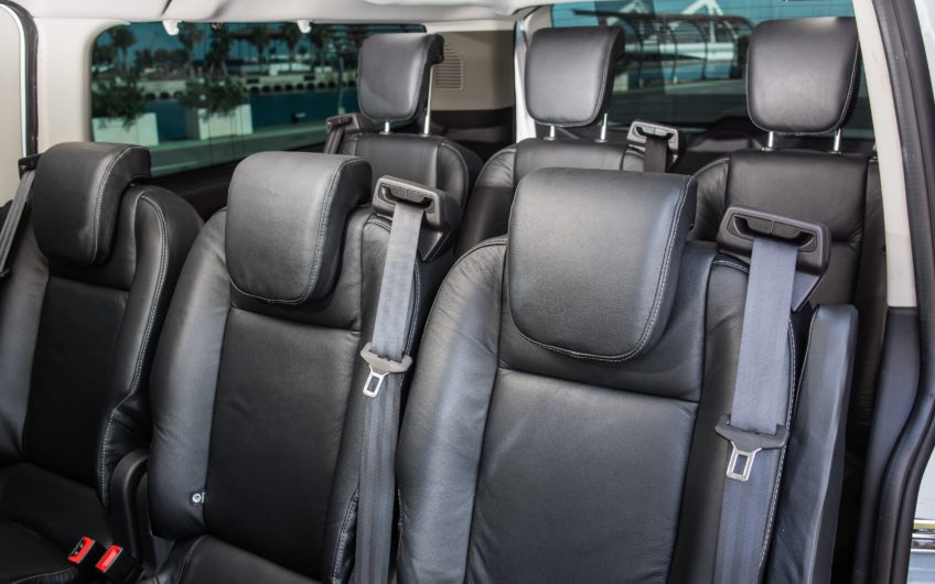 backseats of Taxi interior